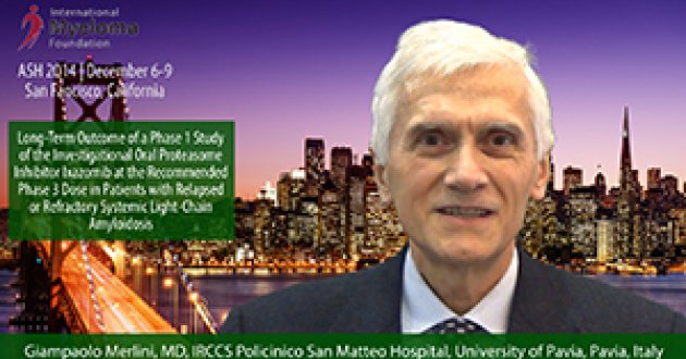 Dr. Giampaolo Merlini at ASH 2014