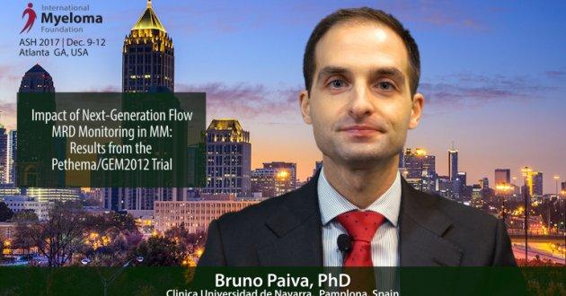 Bruno Paiva, PhD at ASH talks Next-Generation Flow MRD Monitoring in Multiple Myeloma