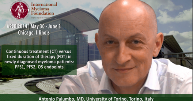 Antonio Palumbo, MD at ASCO convention 2014