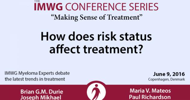 IMWG Myeloma Experts Debate Risk Status