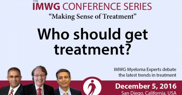 Treatment Discussion At The 58th Annual ASH Meeting
