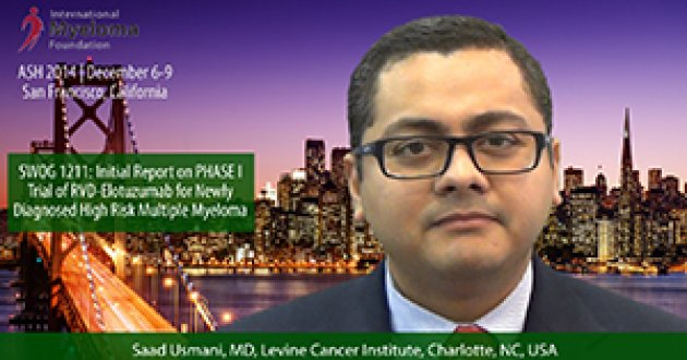 Dr. Saad Usmani at ASH 2014