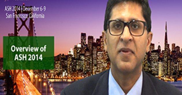 Dr. Ravi Vij at ASH 2014