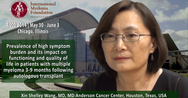 Xin Shelley Wang, MD at ASCO convention 2014