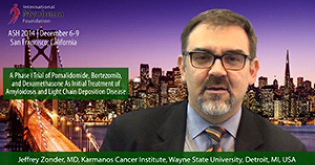 Dr. Jeffrey Zonder: at ASH convention 2014