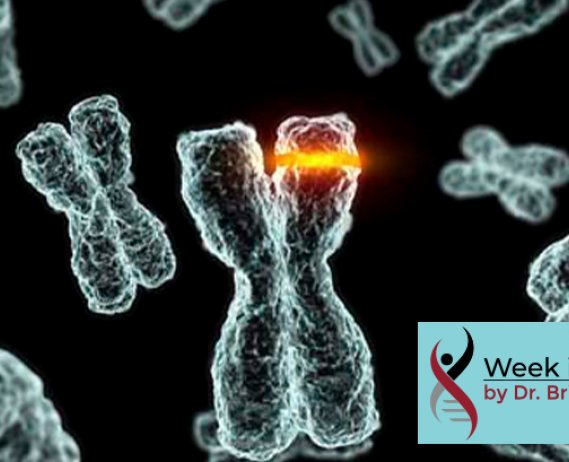 Graphic of a mutated X chromosome
