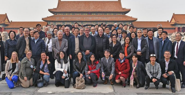AMN group photo in Shanghai, China