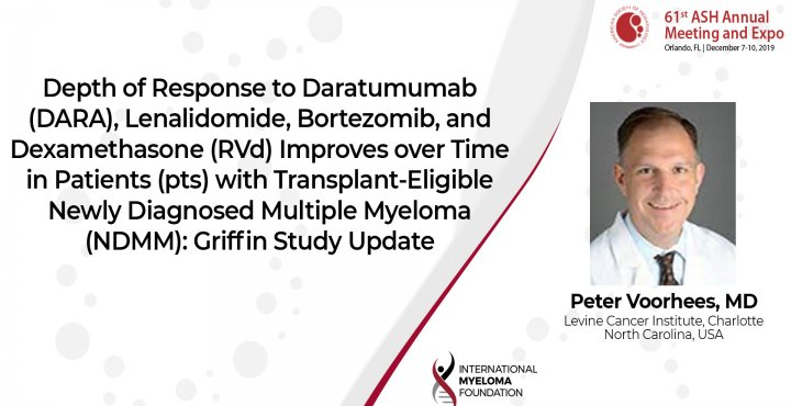 Dr. Peter Voorhees Griffin Study ASH 2019