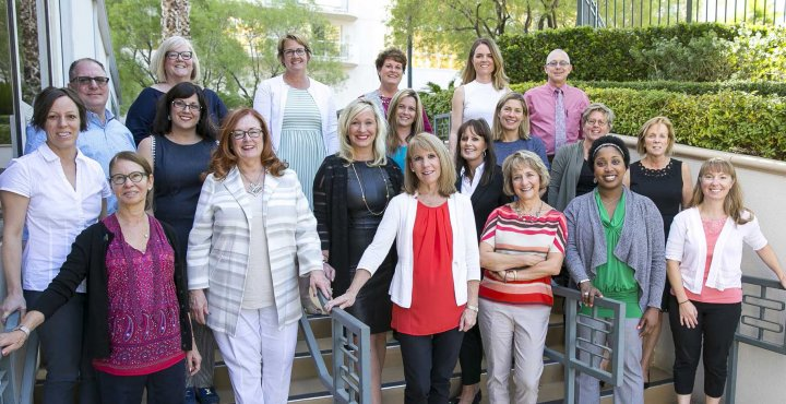 International Myeloma Foundation's Nurse Leadership Board members pose for a group photo