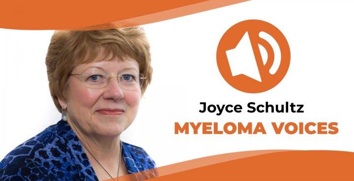"Joyce Schultz shares her multiple myeloma journey on ""Myeloma Voice"""