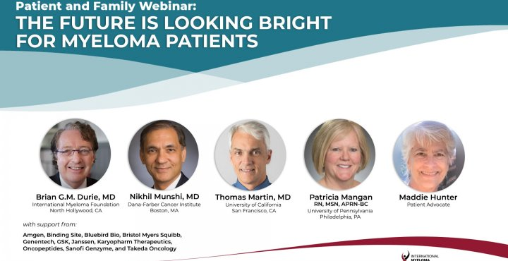 Patient Family Webinar with speakers banner