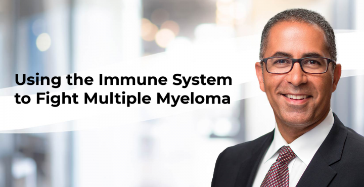 Dr. Joe Mikhael explains how we can use the immune system to fight multiple myeloma