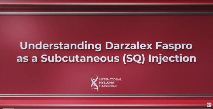Understanding Darzalex Faspro video