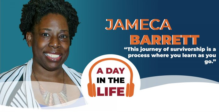 A Day in the Life podcast - Jameca Barrett