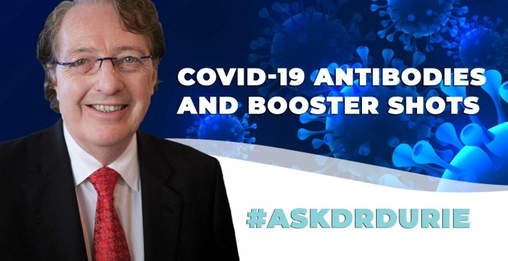 covid 19 antibody booster shot question