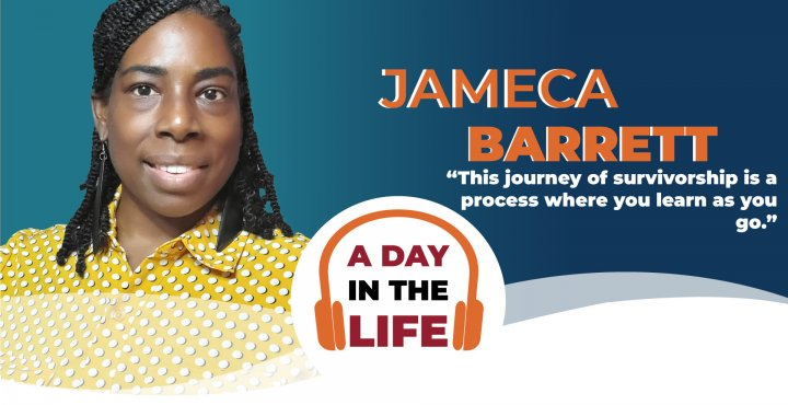 A day in the life of Jameca Barrett