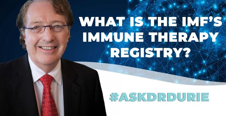 ask dr durie video about immune therapy image