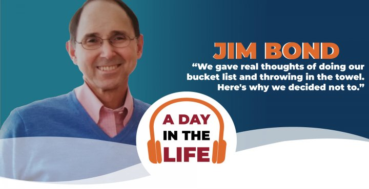 A day in the life of Jim Bond