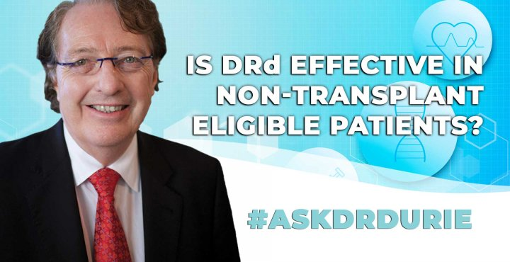 ask dr durie video, DRd as an effective treatment