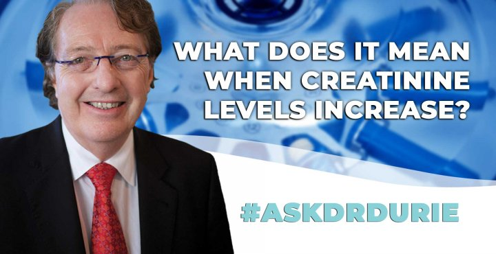 ask dr durie video, creatinine levels