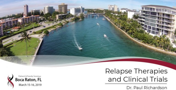 2019 Boca PFS: Relapse Therapies and Clinical Trials