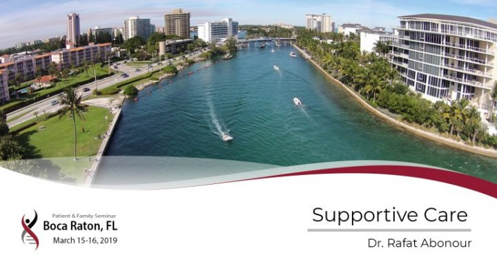 2019 Boca Raton PFS: Supportive Care