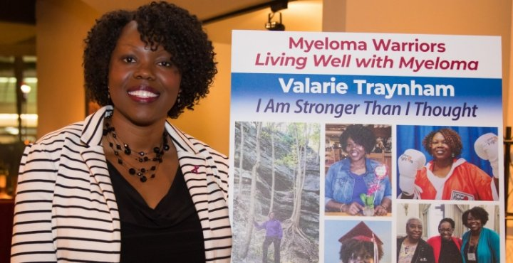 multiple myeloma patient Valarie Traynham