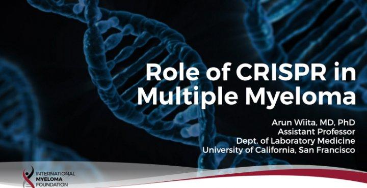 Role of Crispr