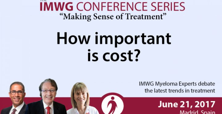 Drs. Brian G.M. Durie, Joseph Mikhael, and Maria V. Mateos discuss the latest news and trends at the 8th IMWG