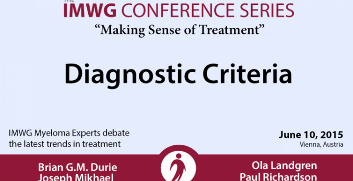 IMWG Myeloma Experts June 10, 2015