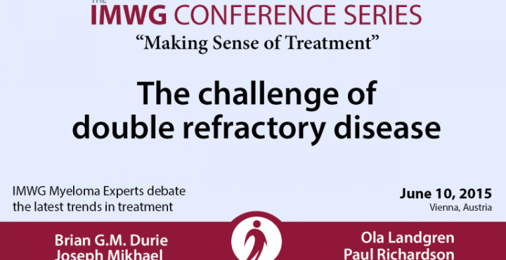 IMWG: The Challenge of Double Refractory Disease