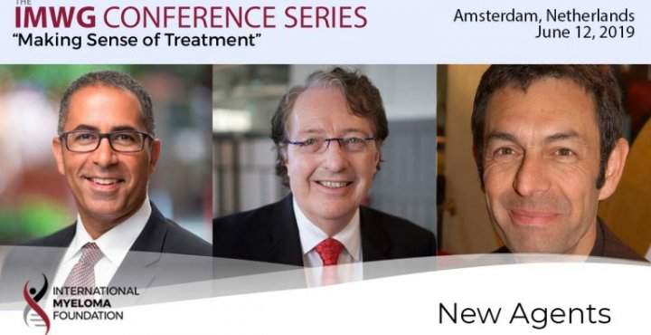 title card for IMWG conference series Amsterdam 2019 New Agents