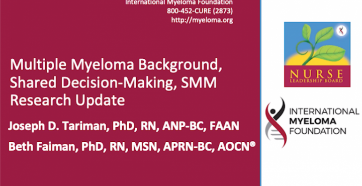 Oncology Nursing Society, Multiple Myeloma Background