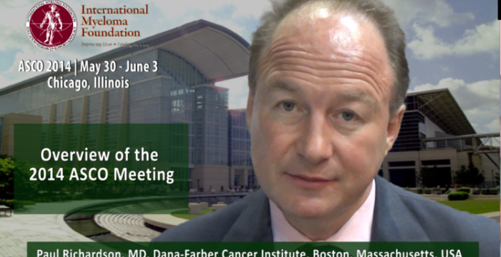 Dr. Paul Richardson at ASCO 2014