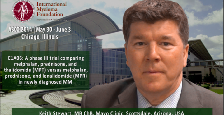 Keith K. Stewart, MB ChB at ASCO 2014