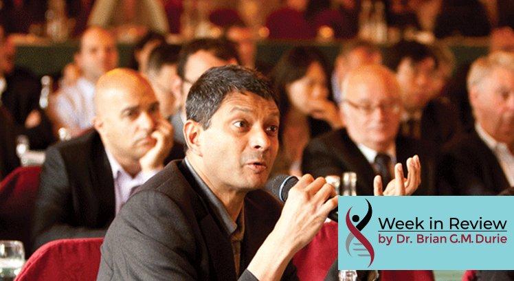 Dr. Rajkumar asks question at the Kyoto International Myeloma Workshop