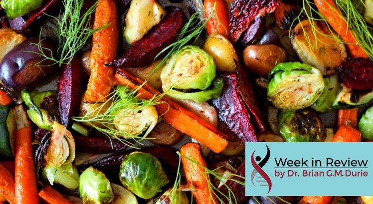 Assorted roasted vegetables