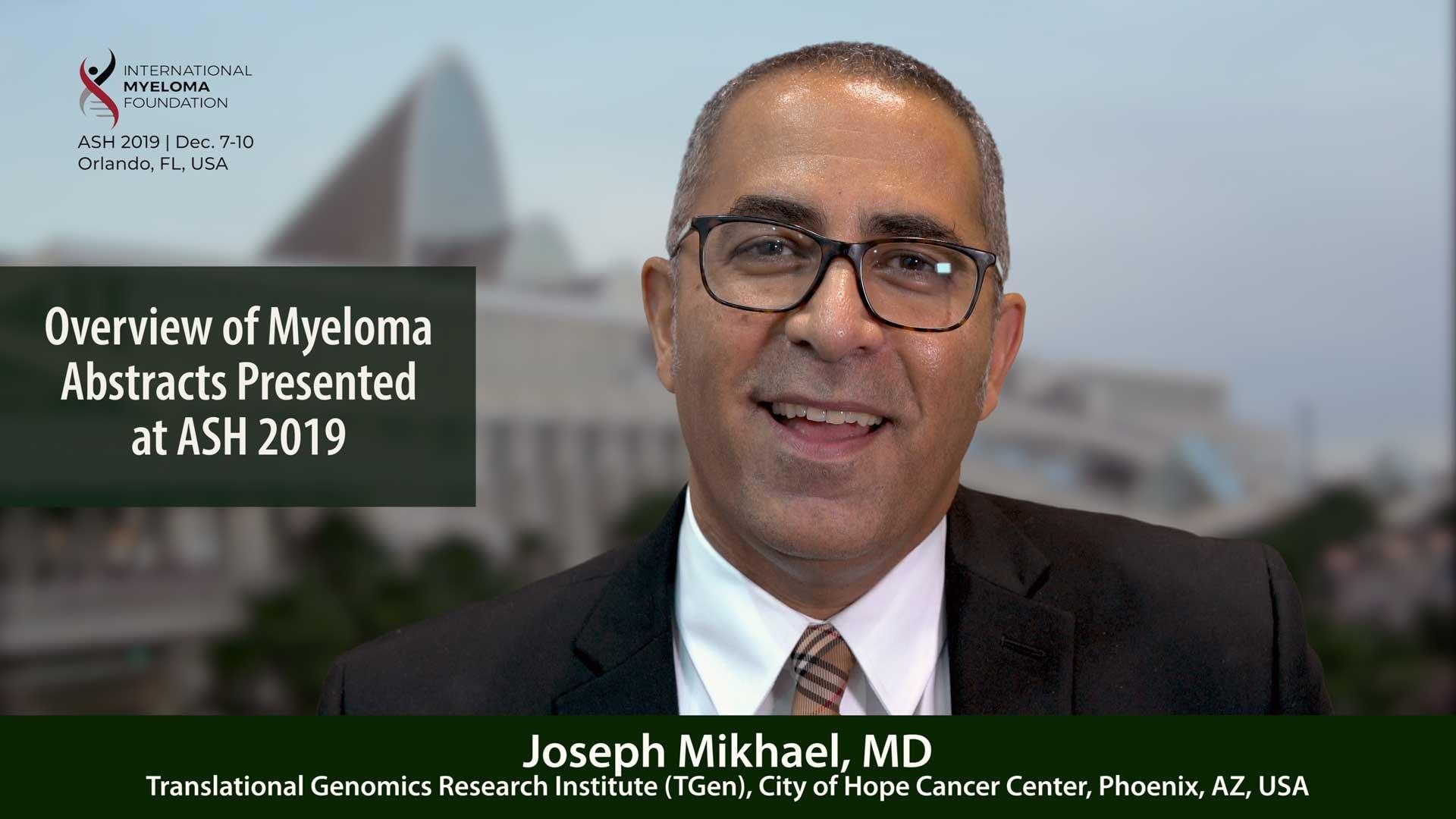 Dr. Joseph Mikhael