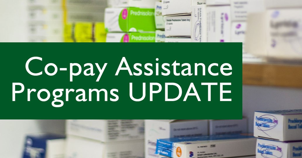Co-Pay Assistance Programs Update logo