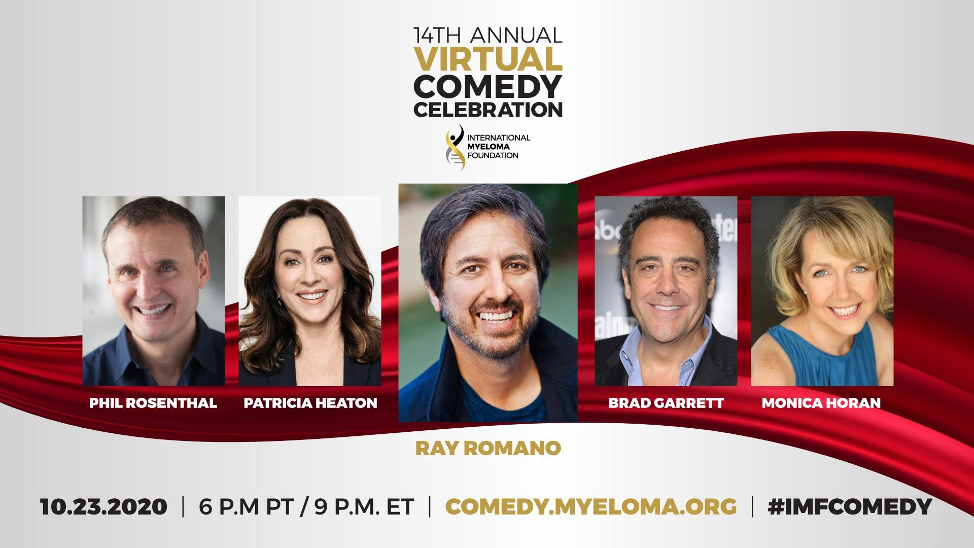 The cast of Everybody Loves Raymond reunites for the international Myeloma Foundation's 14th Comedy Celebration