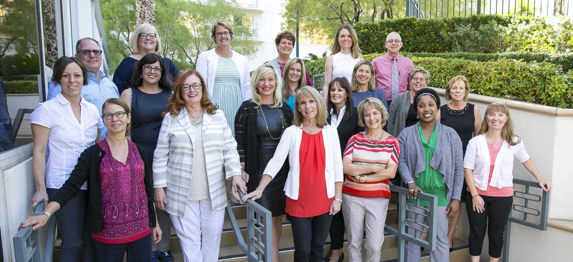 International Myeloma Foundation's Nurse Leadership Board members pose for a group photo