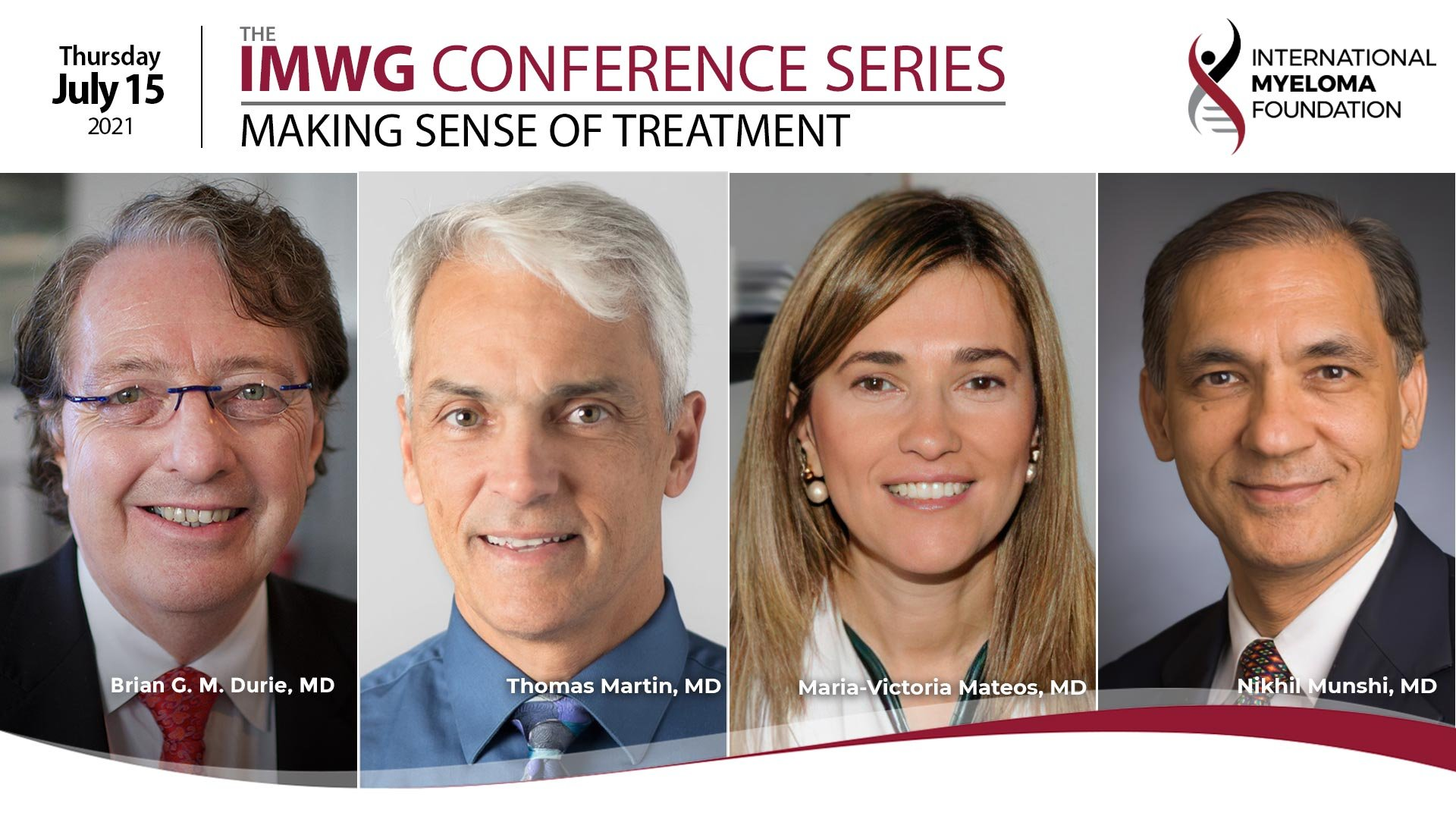 IMWG Conference Series ASCO 2021