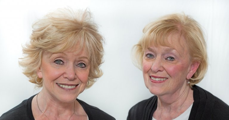 Sharon and Marilyn Alexander
