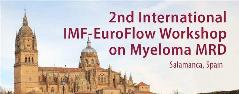 2nd International IMF-EuroFlow Workshop overlaid on image of building in Spain