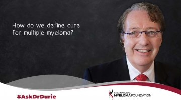 cover image for Ask Dr. Durie How Do We Define Cure