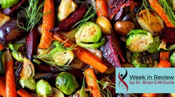 Assorted roasted vegetables