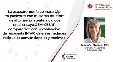 Dr. Marie V Mateos