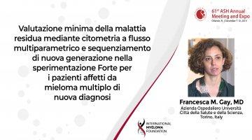 Dr. Francesca Gay ASH 2019