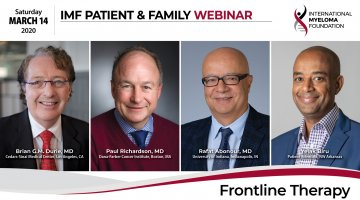 Frontline Therapy PFS title
