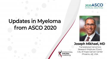 ASCO 2020 Updates in Multiple Myeloma